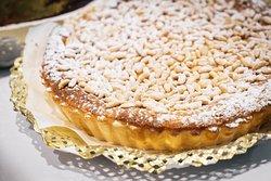 tarte de pinhão e coco