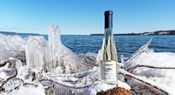 Whether you like sweet wines or not,  this is a lusciously Sweet Riesling.    Produced by freezing our Riesling grapes after harvest and then pressing them, leaving only the concentrated grape juice to be fermented.    Aromas of Peach and Apricot with a wonderful sweet peach flavor