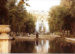Magical fountains.