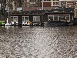 from the other side of the Amstel