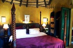 The Amber Moon bedroom