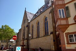 Zentr. Kirche Bad Bergzabern