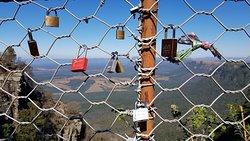 Love locks here
