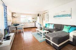 Wohnküche Ferienwohnung Cala Mondrago