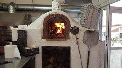 Mega Souvlaki & Pizza - wood burning pizza oven