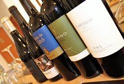 grande escolha de vinhos