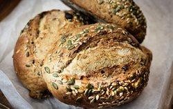Date & Walnut Loaf , using the Sourdough Method of slow fermentation over 48 hrs