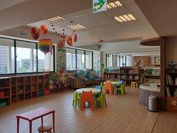 花蓮翰品酒店三樓兒童遊戲室很棒
