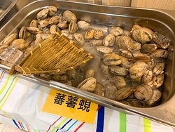 🌟推薦❗️ 白蜆和蕃薯蜆, 因為大隻嘅關係,沙石比較少漏網之魚, 而且肉質鮮甜味美!😏