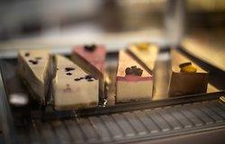 Mindenmentes Lavita desszertek az Átrium Bisztróban