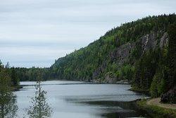 Vue de notre lac
