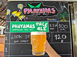 Phayamas Pale Ale, the first and only Koh Phayam and Ranong's local craft beer is available on tap and bottles for take away. Cheers to our local island brew!🤙🏼🌊💚