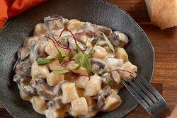 Gnocchi  Funghi