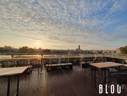 BLOU Rooftop Bar, city view