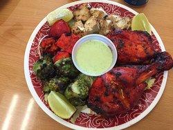 Tandoori Chicken and Mixed Chicken Tikka