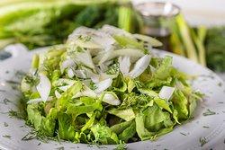 Green salad!