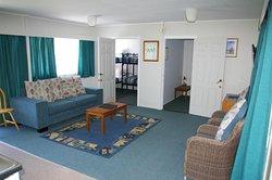 Three-bedroom house living area