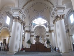 """View from just in front of the altar at the far end (in the """"main part"""" of the Cathedral)"""