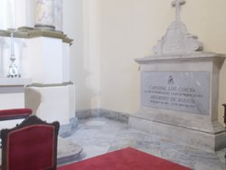 """The tomb of a cardinal (in the """"main part"""" of the Cathedral)"""