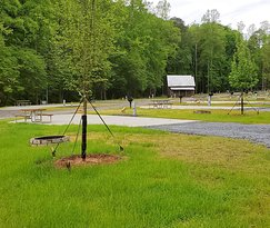 A variety of RV sites and tent sites to choose from.