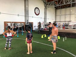 Still be easy easy and happy training days for us at CMMTG. Good muaythai sessions June10  2020