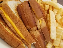 Grilled Cheese (double order) & fries