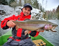 Monster rainbow trout!