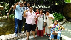 Customers visit Safari World, Bangkok