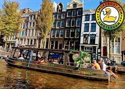 Smokeboat Amsterdam