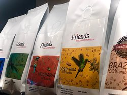 Fresh roasted coffee by Friends