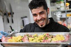Giovanni Gilliberto. Un chef italian poposit in bucataria noastra.