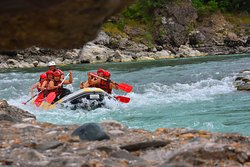 Vjosa River We are a group of outdoor enthusiast, cofounder of the first rafting association Albania Rafting Group, which has helped in developing sustainable outdoor tourism attracting an increasing number of tourists in remote area and extending the time of their stay in Albania. The contribution of ARG has been continuing in generating revenue for local tourism, while maintaining the authentic values of the area, creating new jobs activities through vocational training of young people