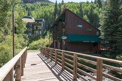 Bridge to the Manitou Lodge