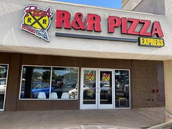 This is an exterior picture of R & R Pizza in Cottonwood, AZ. We do not offer in-house dining. Only Carry-out and Delivery.