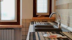 Appartamento DeLuxe di 4 posti +1 letto, particolare della cucina