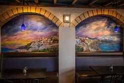 Beautiful mural painted by Taryn Gyles