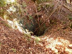 Oeucc' Bulin località Il Campanile above tunnel to Caldé