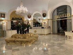 Le lobby de de l'hôtel Negresco
