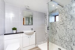 en-suite to Master. Downstairs bedroom and bathroom. wheelchair accessible.