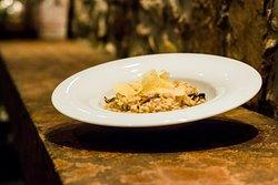 Arborio Rice with parmesan flakes