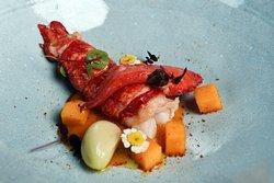 Salade de homard et melon, au menu en juin 2020