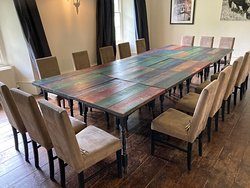 Functional Dining room which can be rearranged for your dining  purpose.