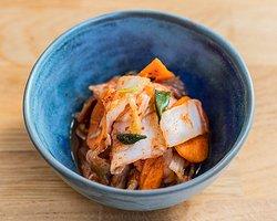 we make our vegan kimchi