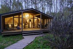Дома GlampHouse Panorama позволят ощутить полностью всю красоту природы, при полном вашем комфор