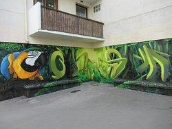 Fresque Le Toucan Dans La Jungle