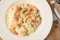 Gulf shrimp Pasta