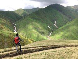 Pankisi Gorge (Wąwóz Pankisi, dolina Pankisi, Pankisi Xeoba) Fotografia z naszej wyprawy trekking z Pankisi do Chewsureti - Caucasus X-Trek Pankisi.