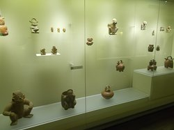 Non-gold pottery items of various designs including those in human & animal shapes (on the 2nd floor)