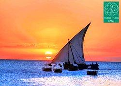 Sea View from Maru Maru Hotel Zanzibar.