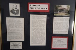 A house built of brick